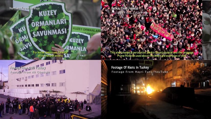"""Global Uprisings'ten """"Gezi'nin Ardından"""" kısa belgeseli"""