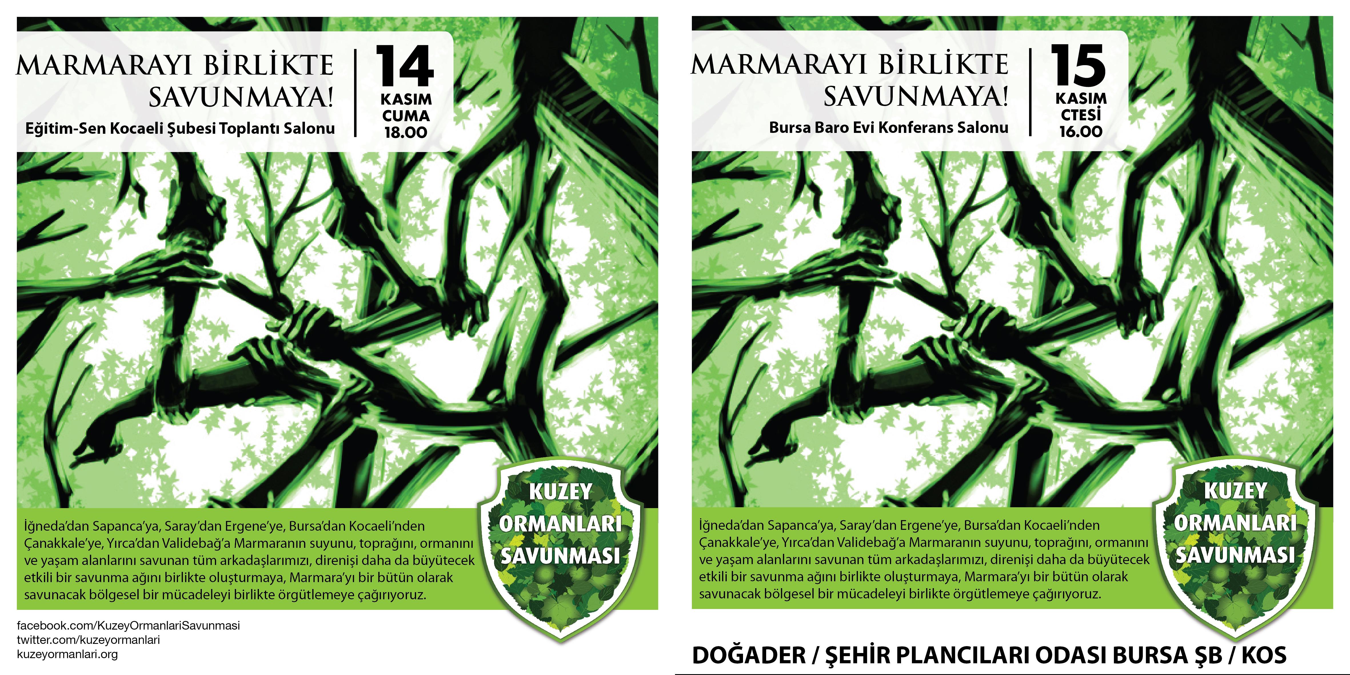 Marmara'yı Birlikte Savunmaya!