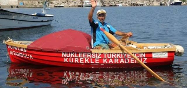 Nükleersiz Türkiye için Kürekle Karadeniz