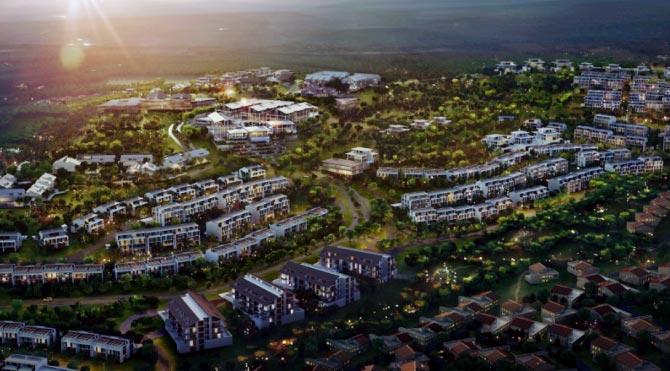 Orman arazisine 1.5 milyarlık villa köyü!