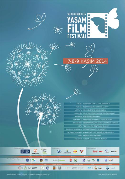 Sürdürülebilir Yaşam Film Festivali 2014 11 ilde eşzamanlı başlıyor!
