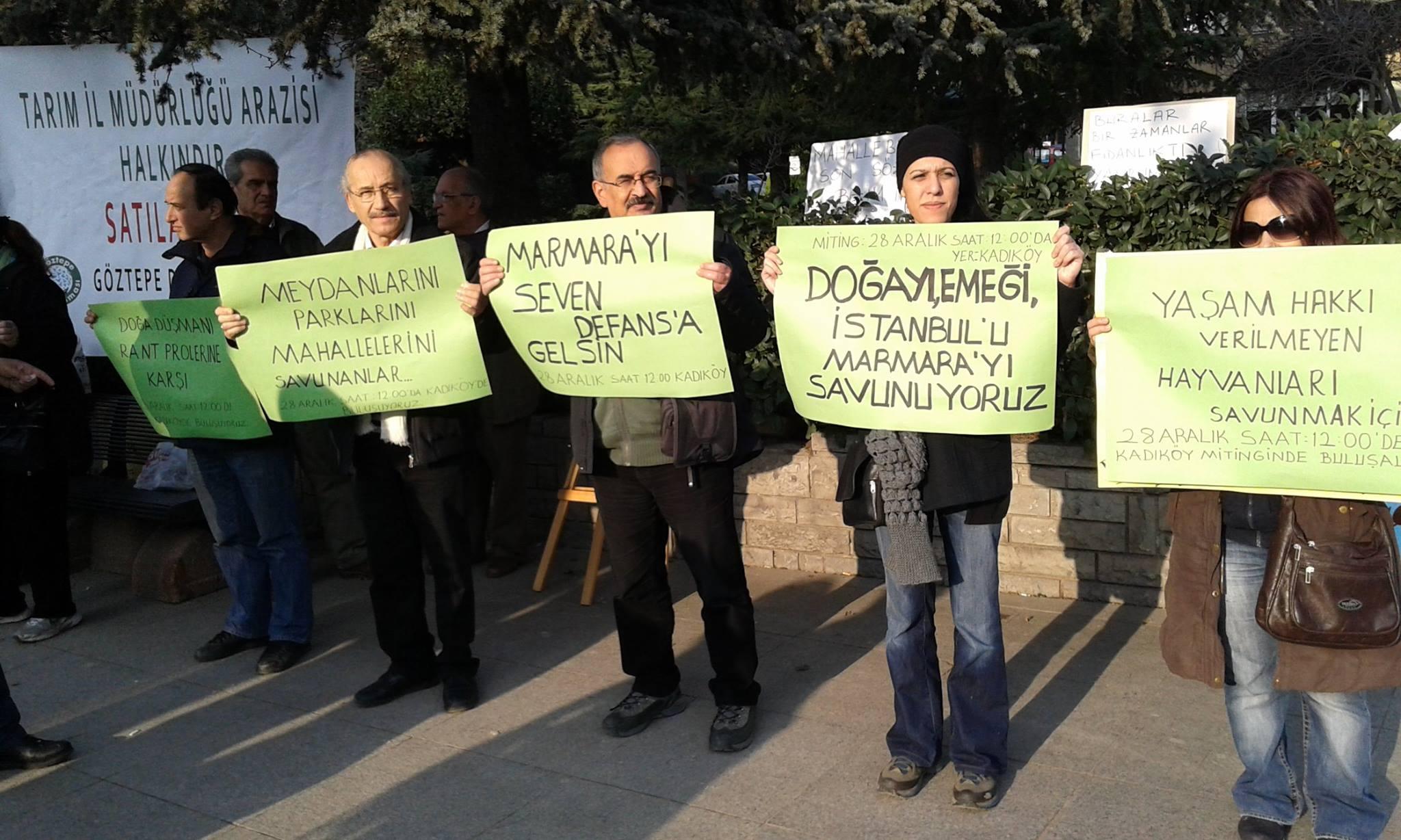 Marmara için Kadıköy'de saflar sıklaşacak