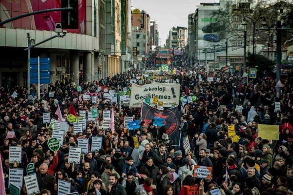 Marmara Kent ve Çevre Mitingi basın toplantısı – 23 Aralık Salı günü