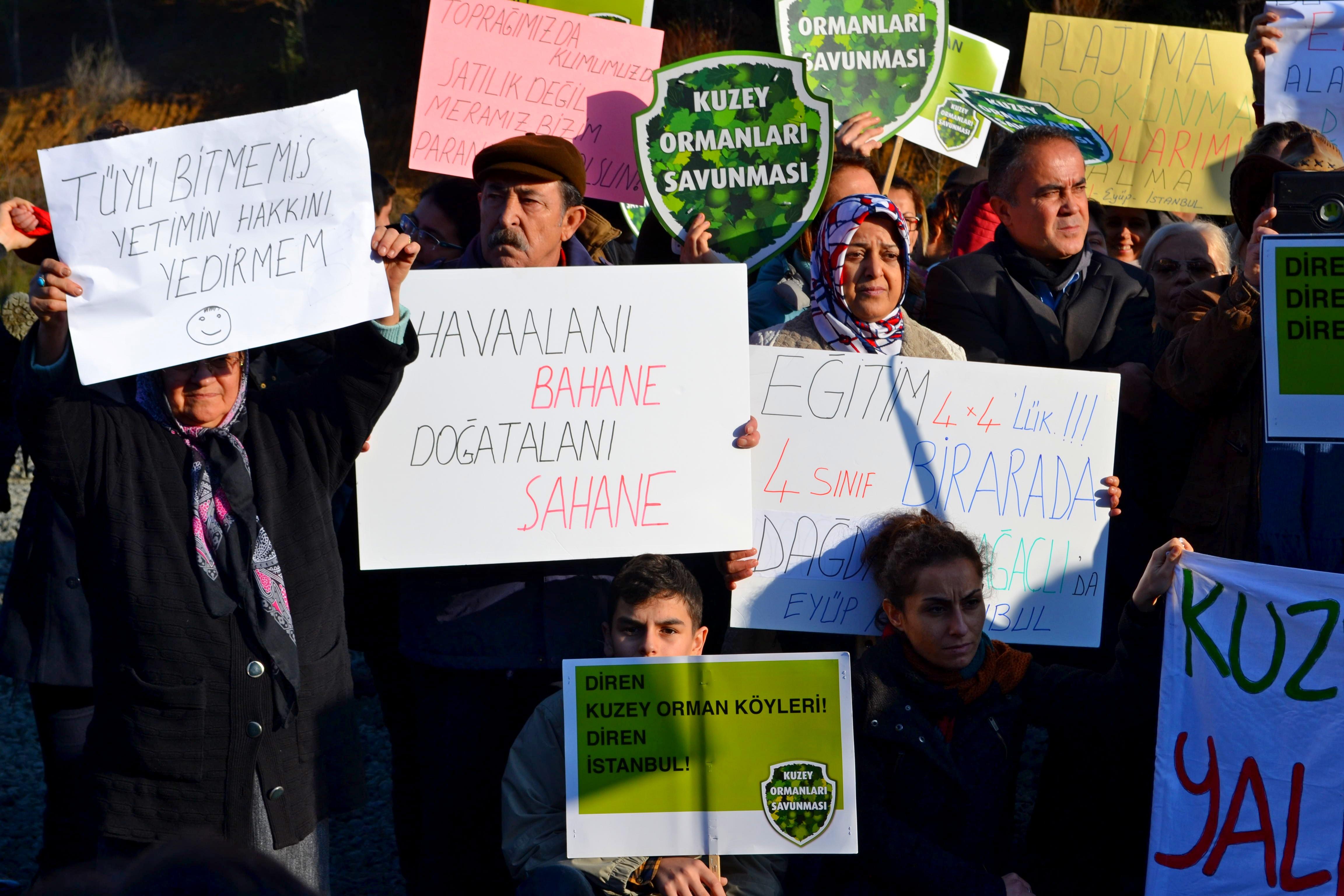 """""""Ağaçlı'da Direnen İstanbul'da Kazanır!"""" 14 Aralık Ağaçlı Eylemi'nin ardından"""