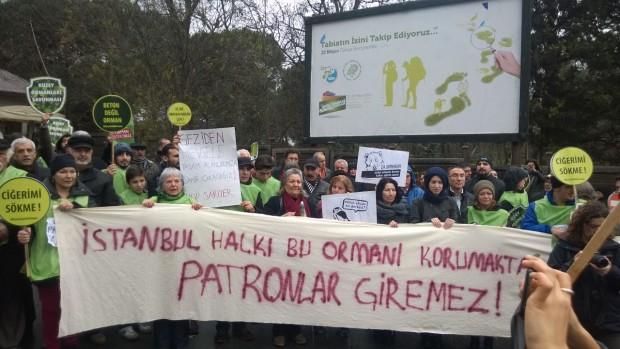 İBB'ye Fatih Ormanı projesine ruhsat vermeme çağrısı