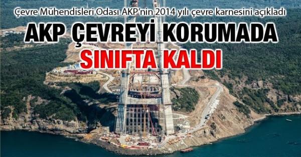 AKP çevreyi korumada sınıfta kaldı