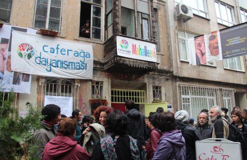 Kadıköy'de Mahalle Evi Nöbeti