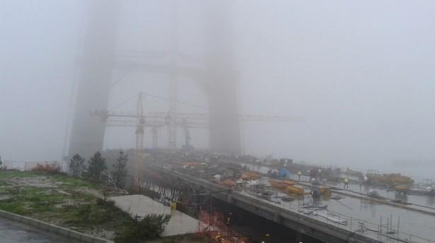 3'üncü Köprü'de grev: Ücretlerini alamayan emekçiler iş bıraktı