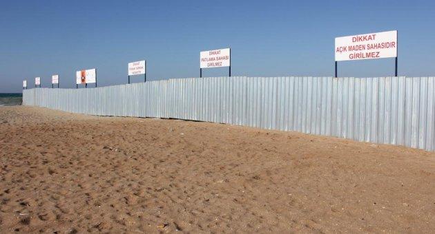 3. Havalimanı'ndaki kum çekme işi yasal değil