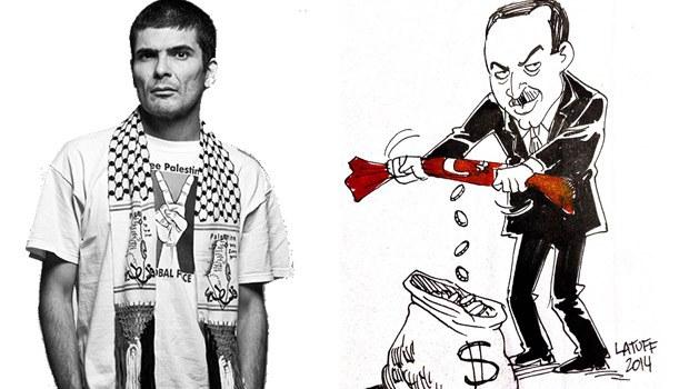 Brezilyalı karikatürist 'Erdoğan benim ilham perim' dedi