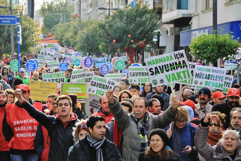 Binlerce Yaşam Savunucusu Bir Arada Marmara'yı Savunmak İçin Buluştu! – 28 Aralık Marmara Kent ve Doğa Mitingi ardından