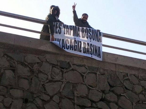 """Ankara'daki HES Fuarı Protestolarla Kapandı: """"HES Yapma Boşuna, Yıkacağız Başına"""""""