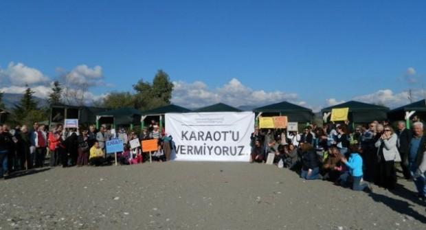 Bu Sefer de Caretta Carettaların Fethiye'deki Üreme Alanına Tersane Projesi