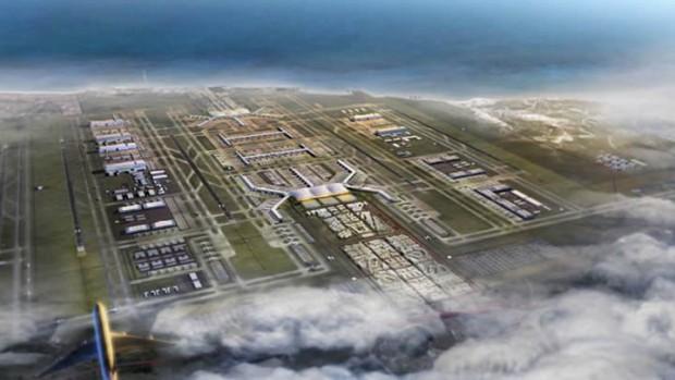 Yargı 3. havalimanı için ÇED'i görmedi