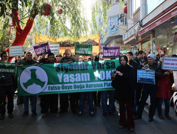 İstanbul, 11 Ocak, Fatsa Ünye Doğa Koruma Platformu'nun Dayanışma Gecesi