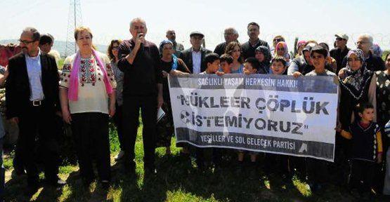 İzmir Gaziemir'de nükleer tehdit sürüyor