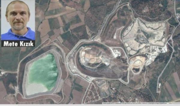 Bergama'daki siyanürlü altın madeninde üretim durduruldu