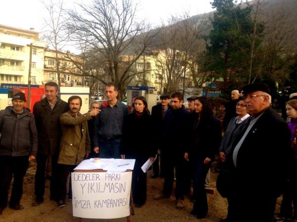 Bursalılar direndi, Dedeler Parkı için yürütmeyi durdurma kararı aldı