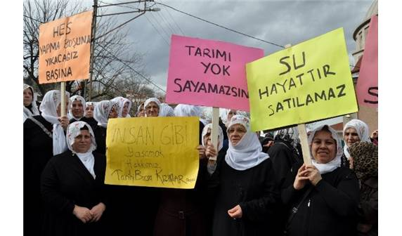 Bursa'da köylüler, HES'lerin ÇED toplantılarını yaptırmadı!