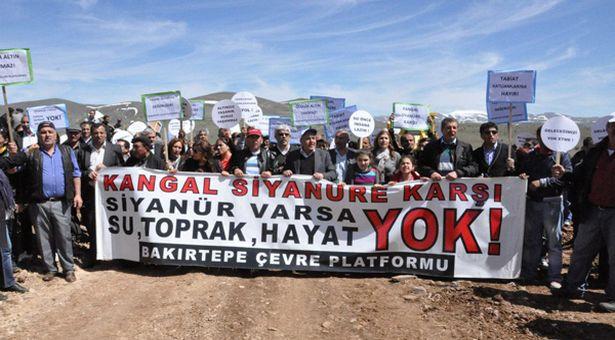 Sivas Bakırtepe'de siyanürle altın aramaya ikinci defa yürütmeyi durdurma