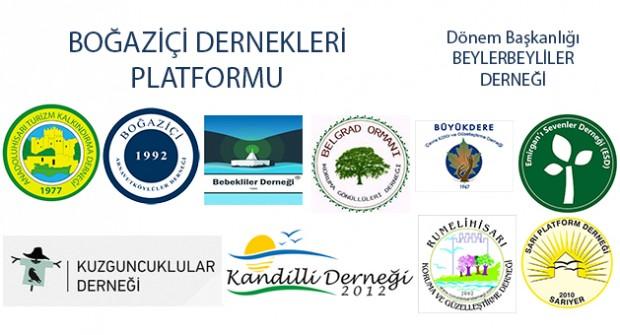 İstanbul: Boğaziçi Derneklerinden Boğaziçi Belediyelerine Çağrı