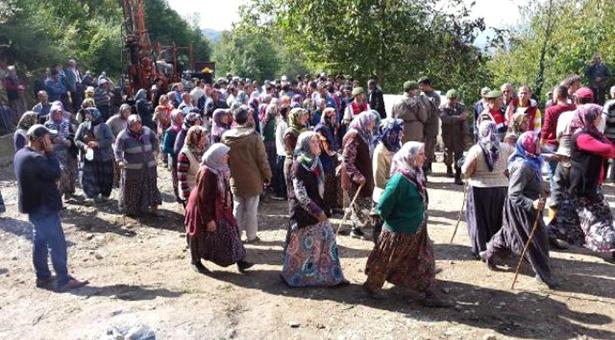 Düzce'de köylü direnişi kazandı: Mermer ocağına yürütmeyi durdurma