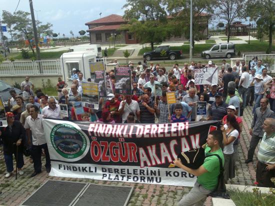 Fındıklı bir kez daha ÇED protestosuna hazırlanıyor