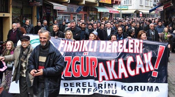 """ÇED protestosuna hazırlanan Fındıklılılar: """"Türkiye adımızı HES direnişiyle duydu, duymaya devam edecek"""""""