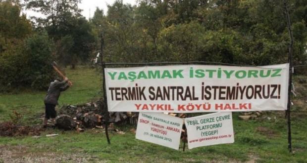Sinop, Gerzeli yaşam savunucularından 15'i beraat etti