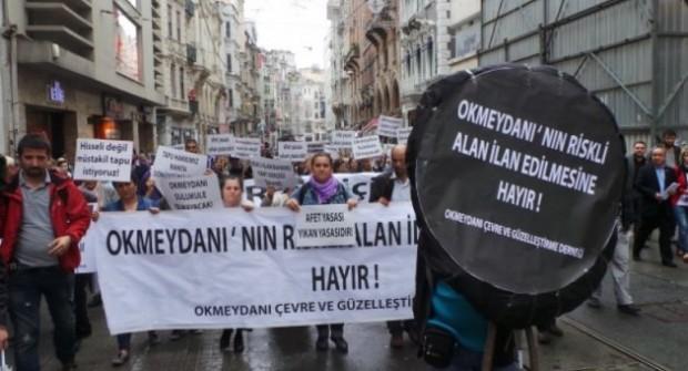 İstanbul, Okmeydanı'nda kentsel talan mahkemeden döndü