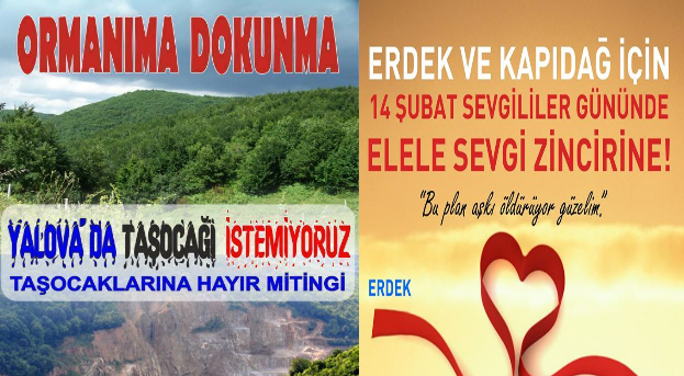Sevgililer Günü'nde Marmara'yı Savun!
