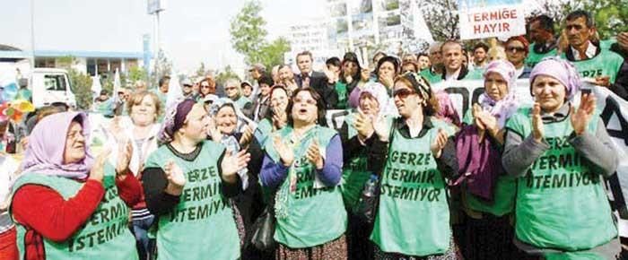 Gerze termik santral direnişi için mahkemenin kararı: 'Direniş demokratik haktır'!