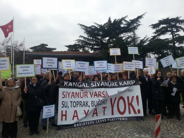 """Bakırtepe'de halk direndi, yargı kararını verdi: """"Siyanürle altına hayır!"""""""