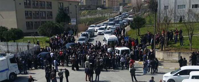 Başakşehir'de imam hatip isteyenlerle çevrecileri karşı karşıya getirdiler