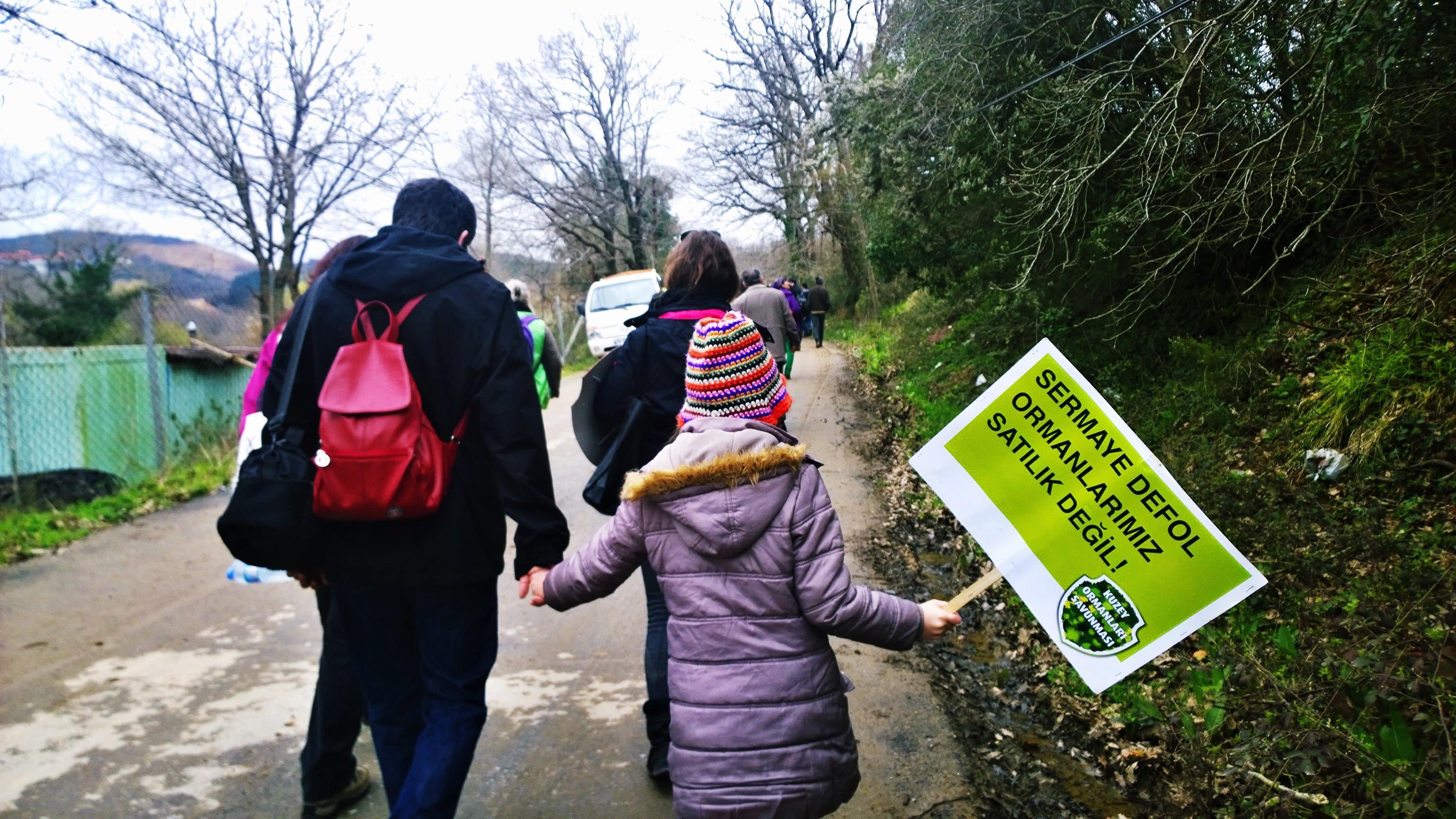 Yaşam Savunucuları Kuzey Ormanları'na Direniş Sözü Verdi! 29 Mart eylemimiz ardından