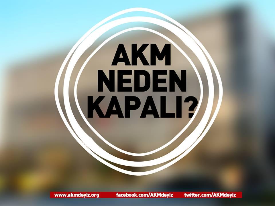 AKM'yi harabeye çeviren AKP'ye suç duyurusu