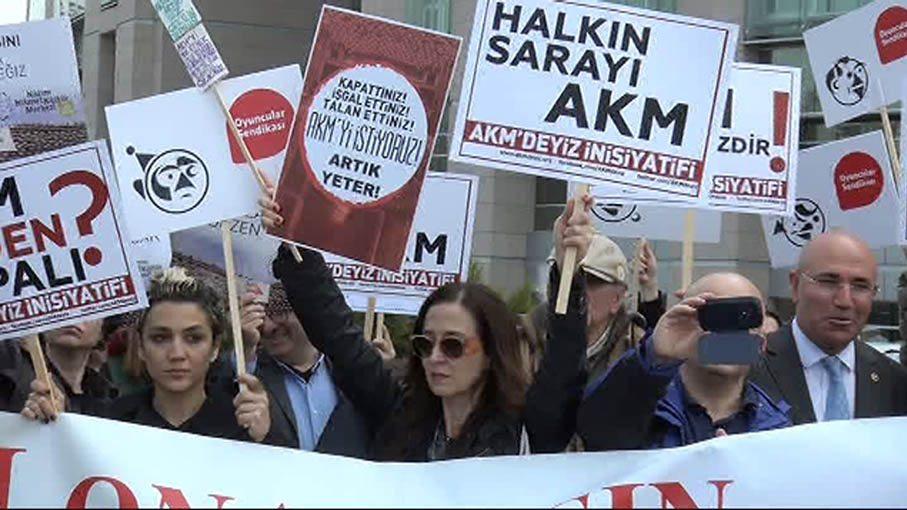AKM'deyiz İnisiyatifi'nden AKM için suç duyurusu
