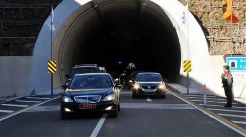 Amasra Tüneli'ne Açılış için Takılan Ekipmanları Söküp Sinop'taki Tünele Taktılar!