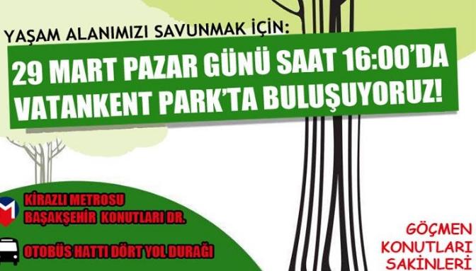 Başakşehir Göçmen Konutları Sakinleri 29 Mart Pazar Dayanışmaya Çağırıyor!