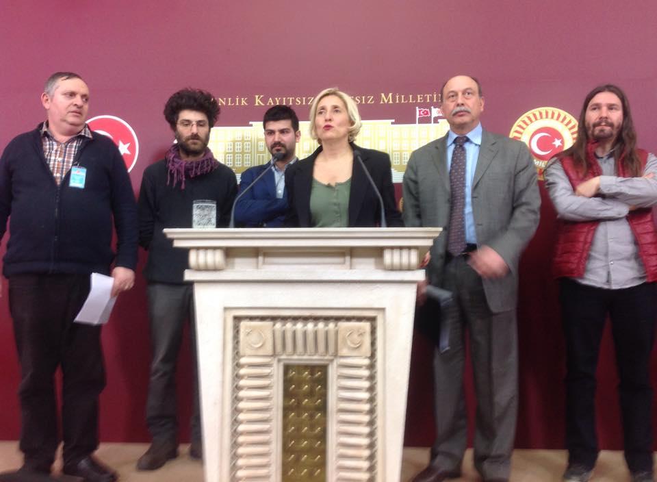 Beyoğlu Kent Savunması Mecliste