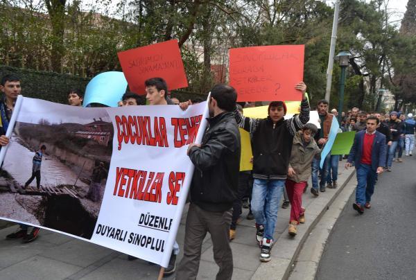 Tekirdağ, Çorlu'da halk temiz dere için eylem yaptı
