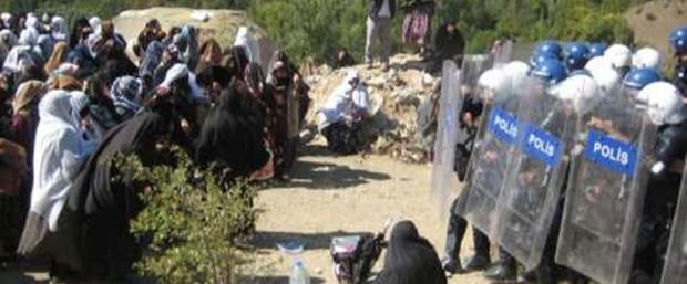 Erzurum'da HES'i yaptıramayınca köylülere eziyet çektiriyorlar!