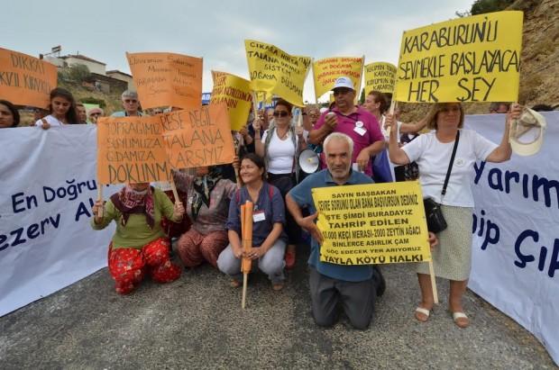 Karaburun'da direniş zaferi: 47 RES tribününe yargı freni!