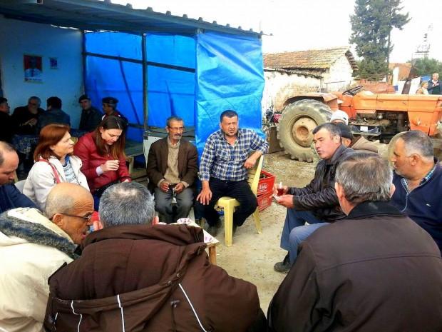 Manisa'da Haciveliler köyünde taş ocağı direnişi jandarma müdahalesine rağmen sürüyor