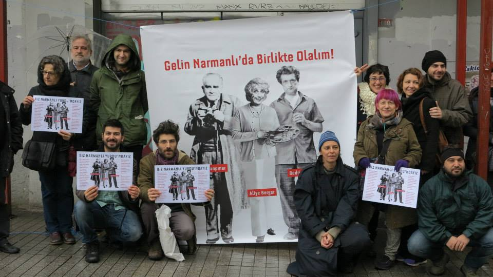 Sermaye Tehdidindeki Beyoğlu'nun Emekçi Hanı Narmanlı için Buluştular!