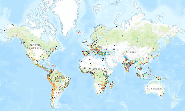 Gezi'den Madagaskar'a Hindistan'dan Zambiya'ya Çevre Adaleti Atlası