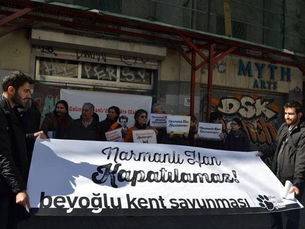 İstanbullular Narmanlı Han'a sahip çıktı