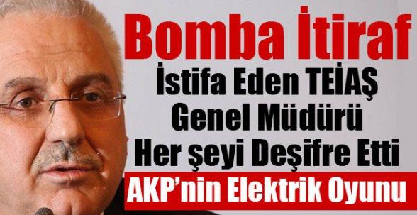 Büyük elektrik kesintisinin faturası TEİAŞ Genel Müdürü'ne çıktı
