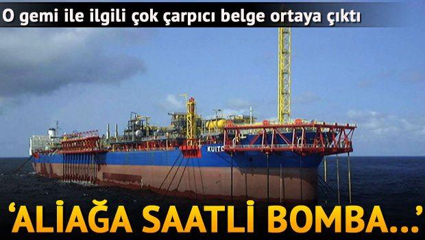 Dev Kuito gemisi radyasyon ölçümü yapılmadan sökülüyormuş! Aliağa ve atıkların gittiği yerler saatli bomba!