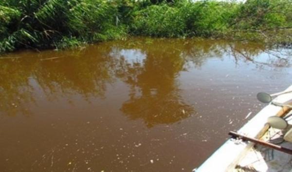 Büyük Menderes nehrindeki kirlilik